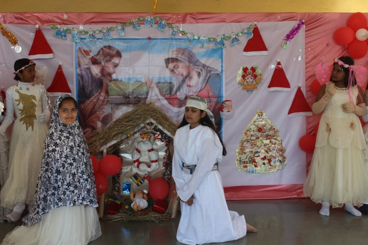 St Annes Higher Secondary School-Chritmas Celebrations