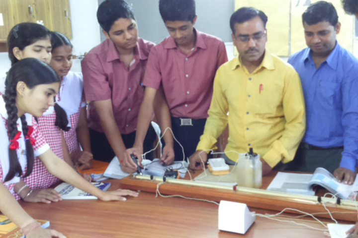 St Annes Higher Secondary School-Physics Lab