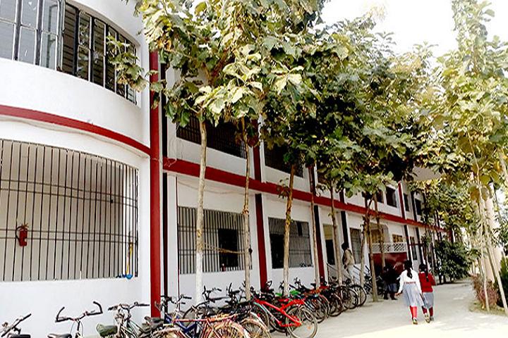 Braj Indu Gyan Bharti Public School-Campus Front View