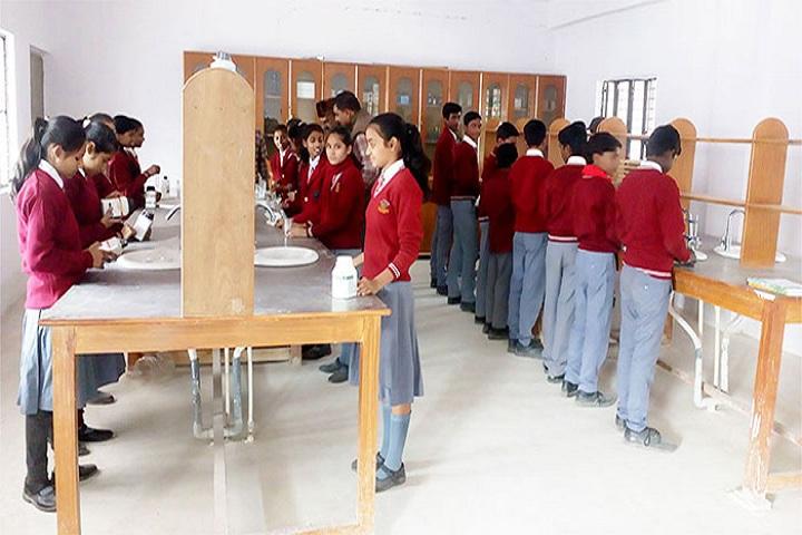 Braj Indu Gyan Bharti Public School-Chemistry Lab