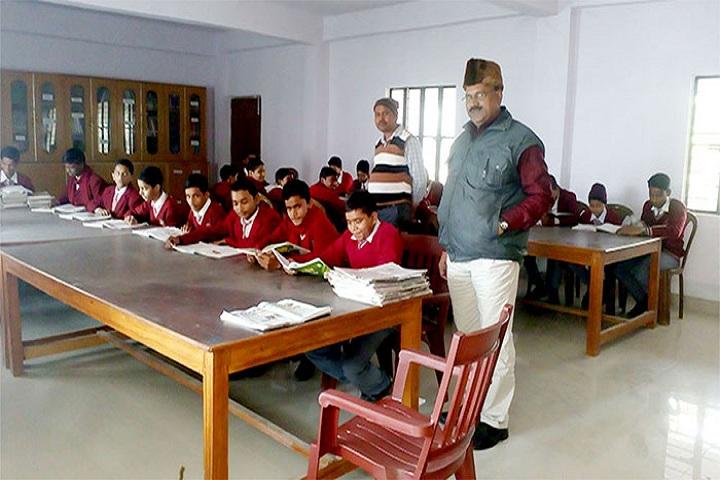 Braj Indu Gyan Bharti Public School-Library