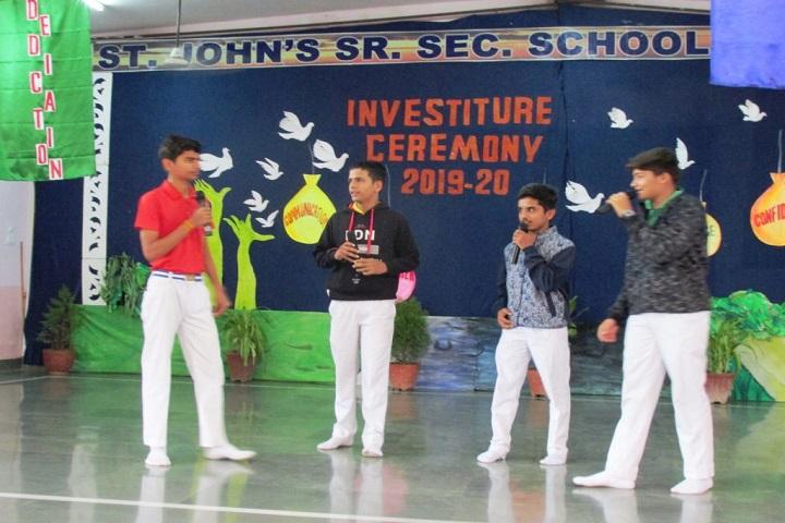 St JohnS Senior Secondary School-Activity