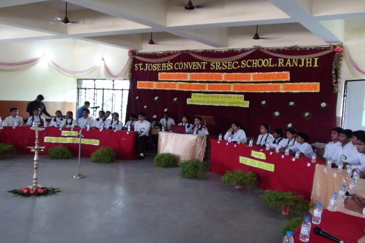 St JosephS Convent Senior Secondary School-Debate