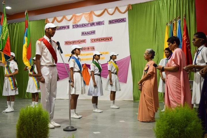St JosephS Convent Senior Secondary School-Investiture Ceremony