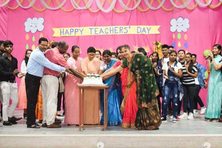 St JosephS Convent Senior Secondary School-Teachers Day Celebrations