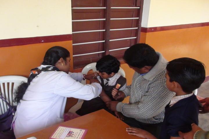 St JosephS Convent Senior Secondary School-Vaccination Camp