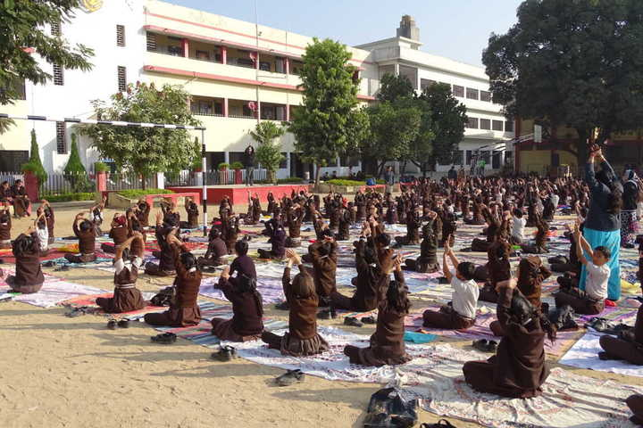 St JosephS Convent Senior Secondary School-Yoga
