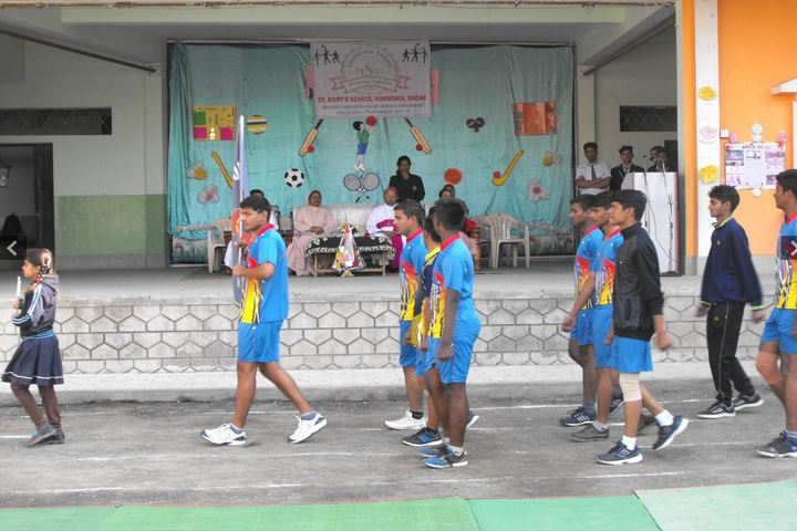 St Marys School-Annual Sports Meet