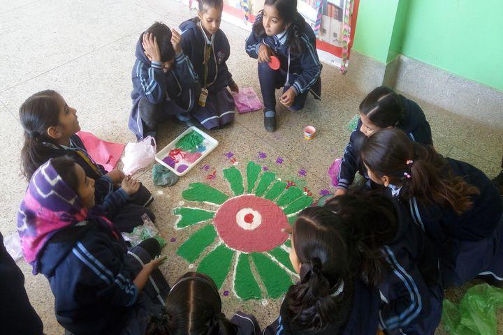 St Marys School-Rangoli Competition