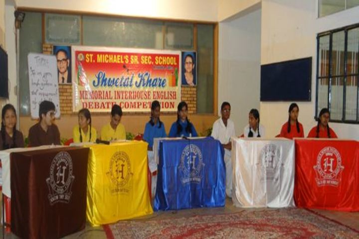 St Michaels Higher Secondary School-Debate Competition