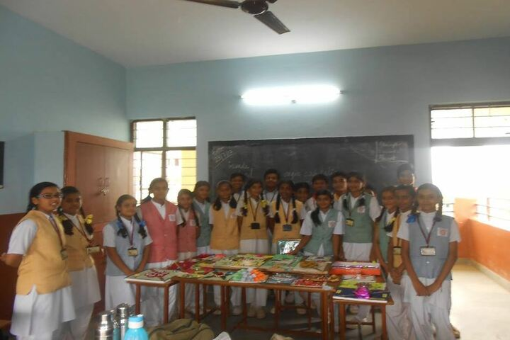 St Thomas Convent Secondary School-Rakhi Making Compitition