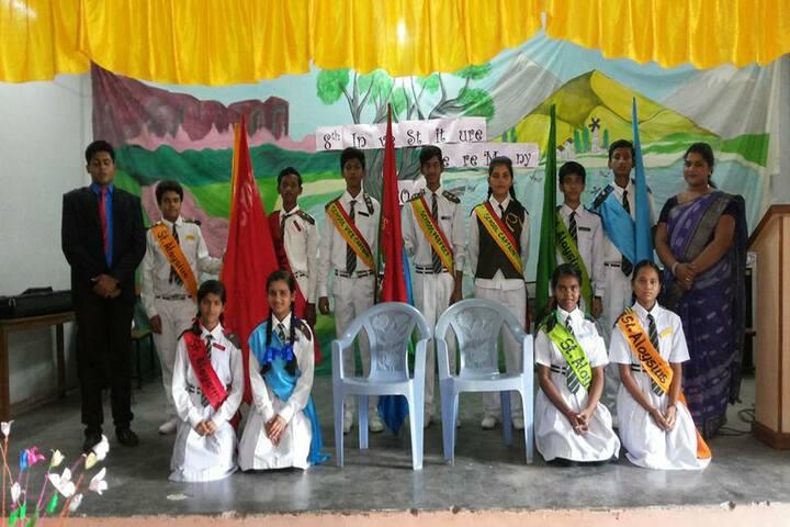 St Aloysius School-Investiture Ceremony
