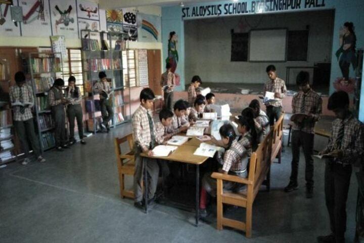 St Aloysius School-Library