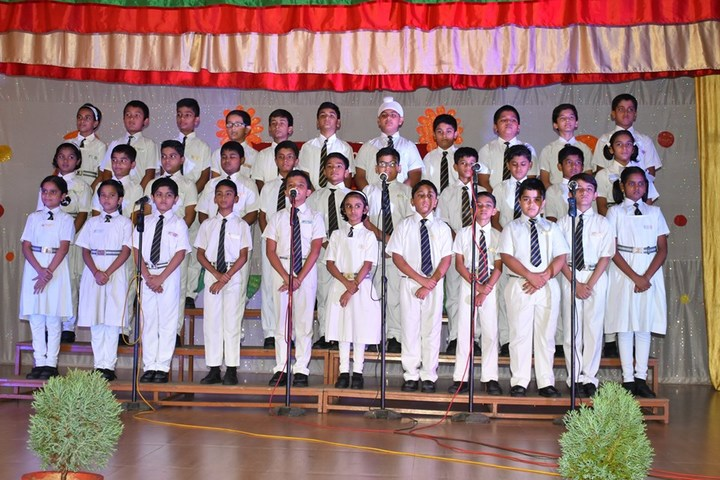 St Aloysius Senior Secondary School-Group Song