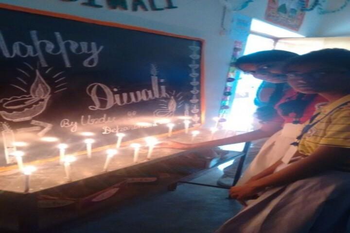 Bright life public school diwali