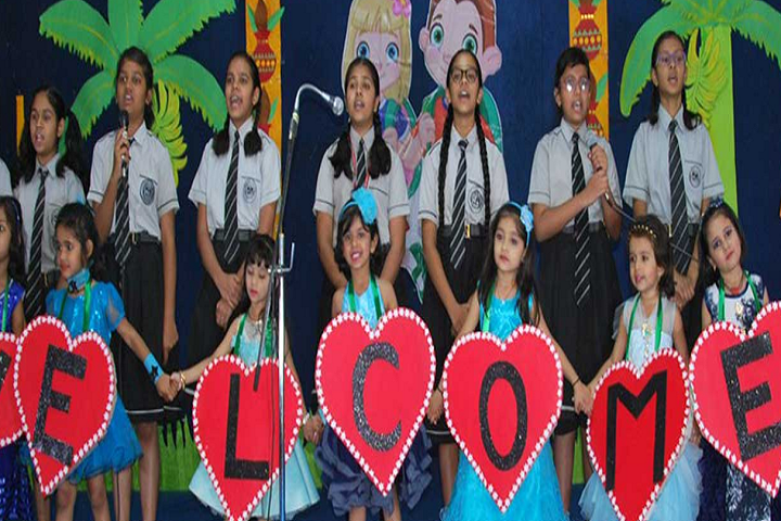 St Arnolds  School-Group Singing