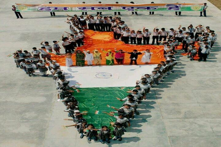 St Charles Higher Secondary School-Patriotic Day