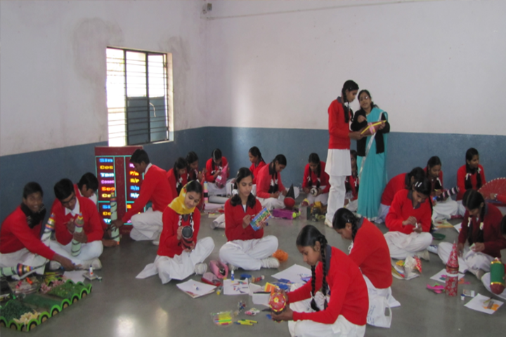St Georges Convent High School-Arts And Crafts Room