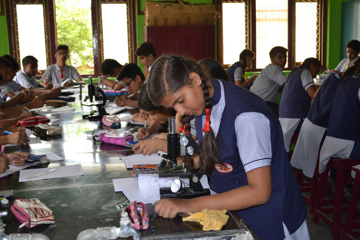 St Josephs Convent Senior Secondary School- Biology Lab