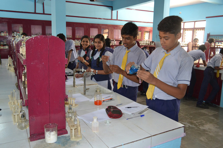 St Josephs Convent Senior Secondary School- Chemistry Lab