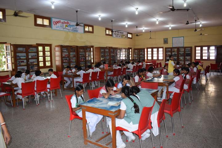 St Josephs Convent Senior Secondary School- Library