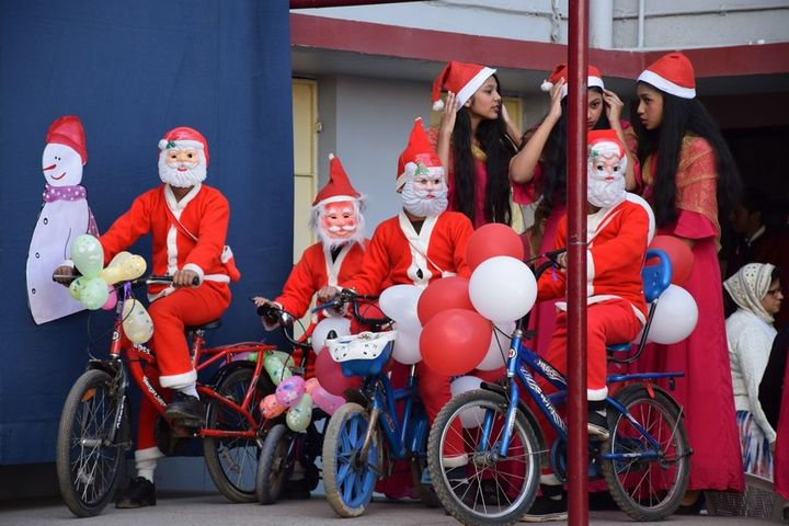 St Mary Convent Higher Secondary School-Christmas Celebrations