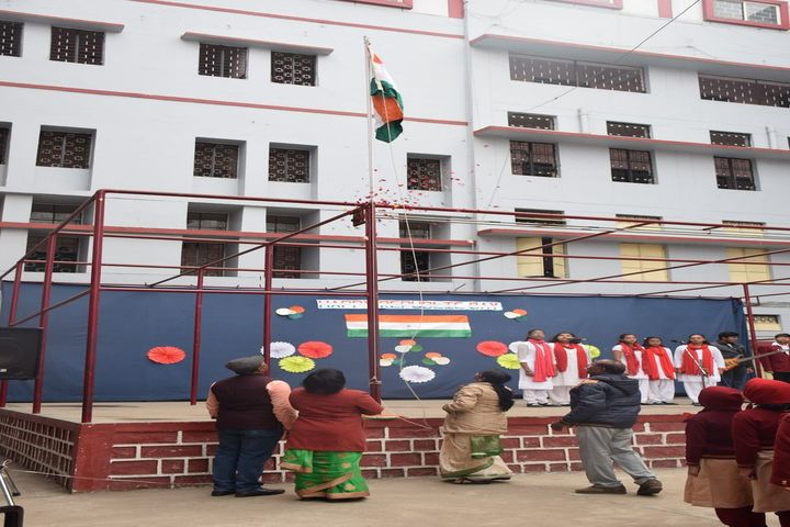 St Mary Convent Higher Secondary School-Flag Hosting