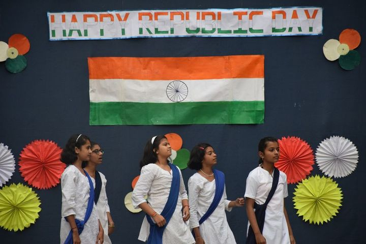 St Mary Convent Higher Secondary School-Republic Day Celebration