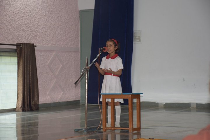 St Mary Convent Higher Secondary School-Story Telling
