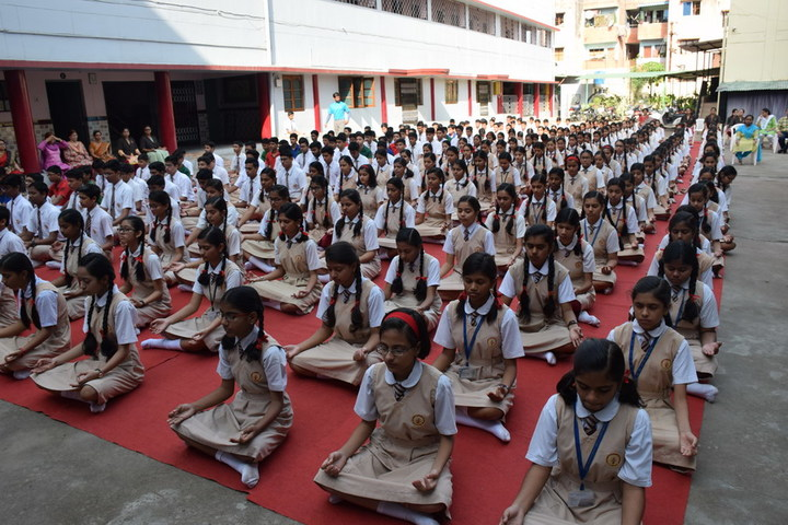 St Mary Convent Higher Secondary School-Yoga