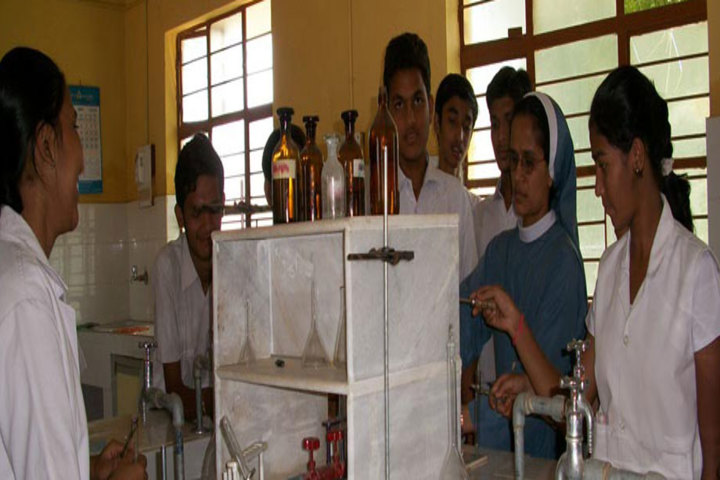 St Marys English Medium School-Chemistry Lab