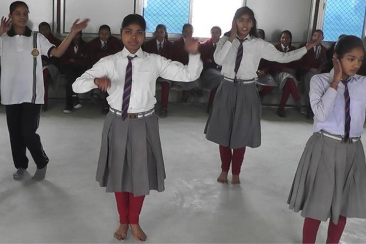 British English School-Dance Room