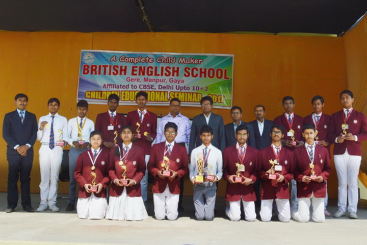 British English School-Prize Distribution