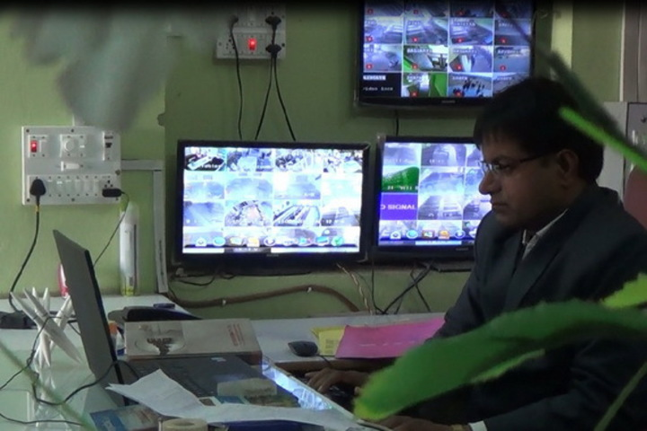 British English School-CCTV Room