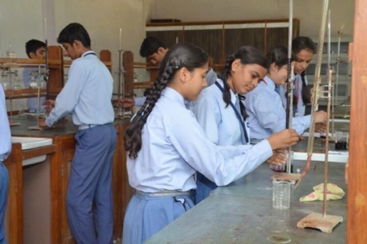 St Pauls Higher Secondary School-Chemistry Lab