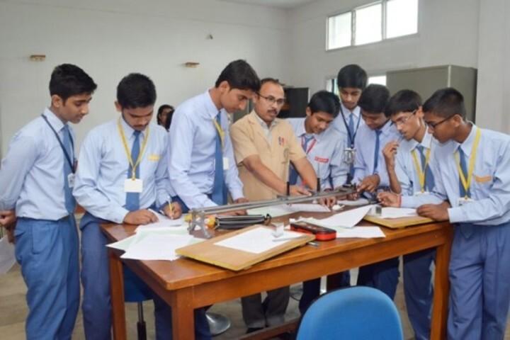 St Pauls Higher Secondary School-Physics Lab