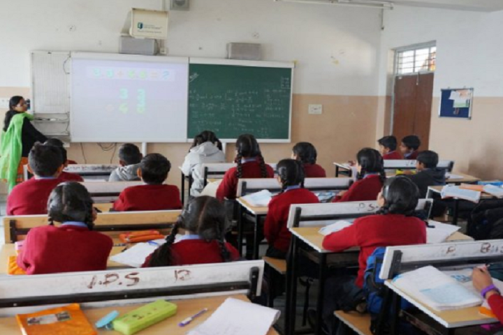 St Vincent Pallotti School-Classroom smart
