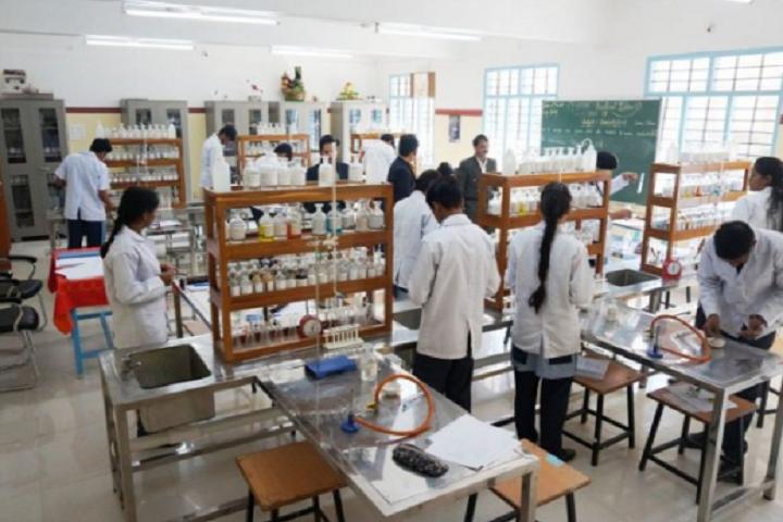 St Vincent Pallotti School-Laboratory chemistry