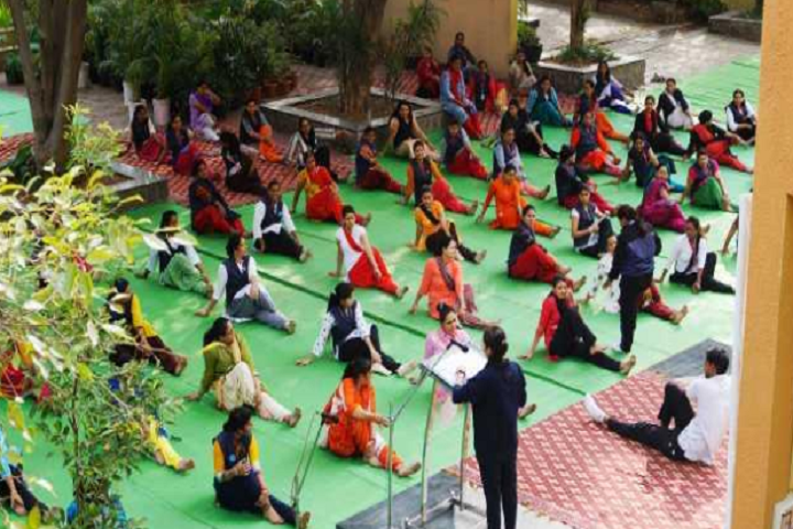 St Vincent Pallotti School-Others yoga