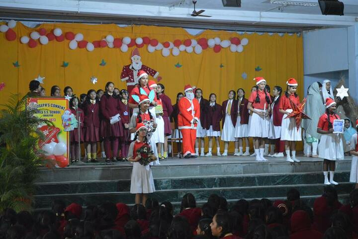 St Josephs Convent Girls Senior Secondary School-Christmas Celebrations