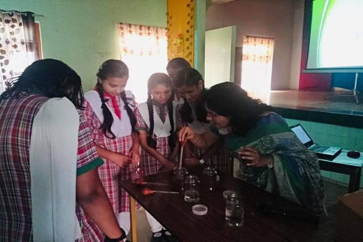 St Josephs Convent H S School-Practical Class