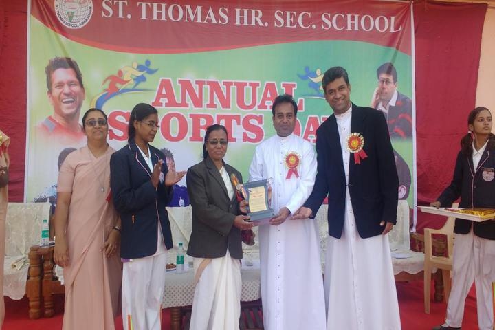St Thomas Higher Secondary School-Awards