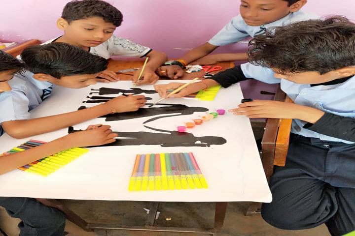 Sumitra Public School-Art and Craft
