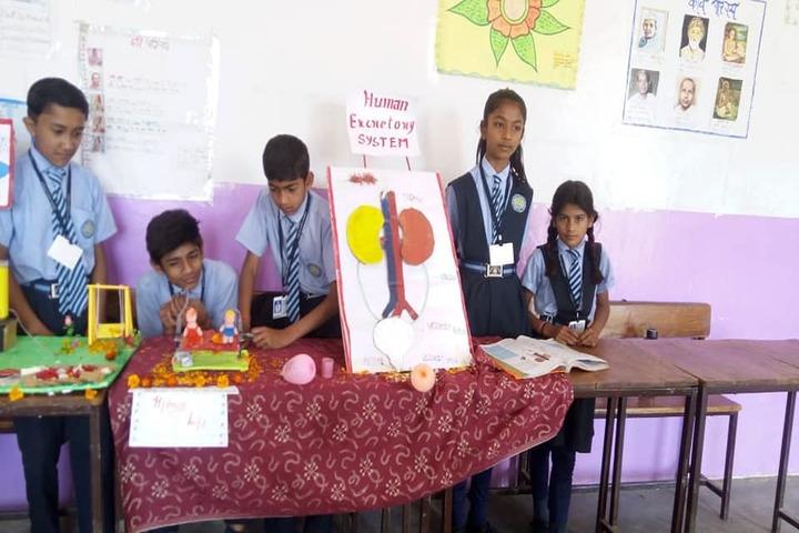 Sumitra Public School-Science Exhibition