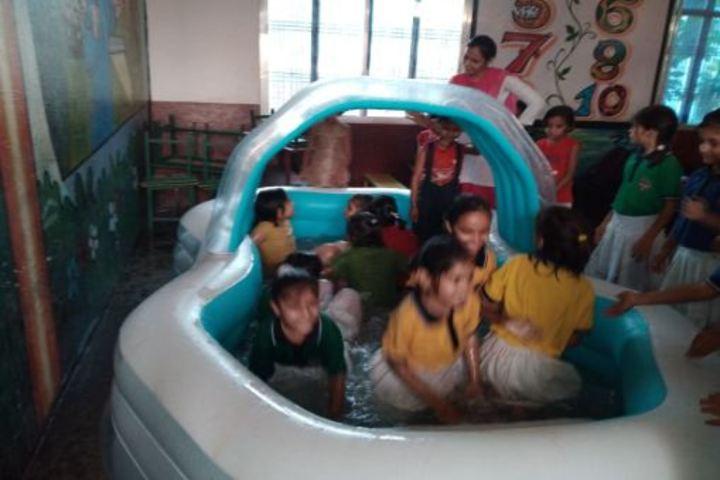 Swami Vivekanand Public School-Pool Party