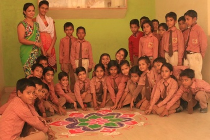 Swaroop Vidya Niketan Higher Secondary School-Rangoli Competition