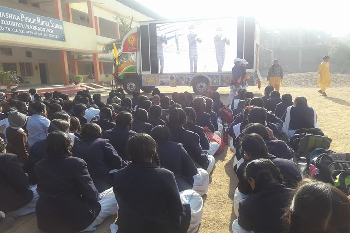 Takshshila Public Model High School-Awareness Programme