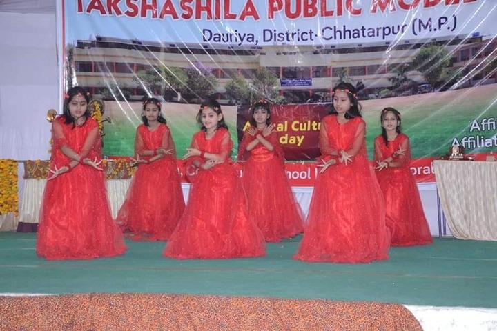 Takshshila Public Model High School-Dance Performance