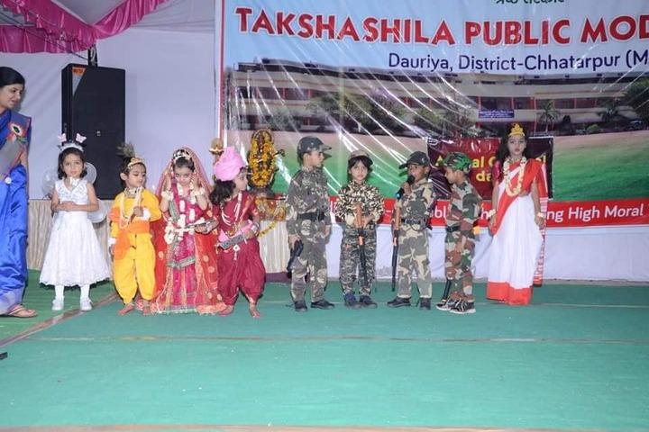 Takshshila Public Model High School-Fancy Dresses