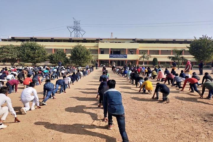 Takshshila Public Model High School-Yoga